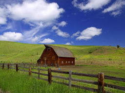 BILLS BARN WALLOWAS OREGON
