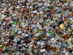 GLASS BEACH Close Up Detail