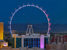 HIGH ROLLER OBSERVATION WHEEL, LAS VEGAS