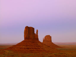 MITTEN BUTTES, MONUMENT VALLEY