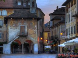 HISTORIC ORTA, LAKE ORTA, LAKES DISTRICT, ITALY