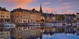 HONFLEUR SUNSET, FRANCE
