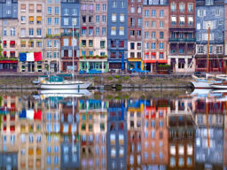 HONFLEUR REFLECTION, FRANCE