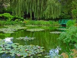 MONETS VISION GIVERNY, FRANCE