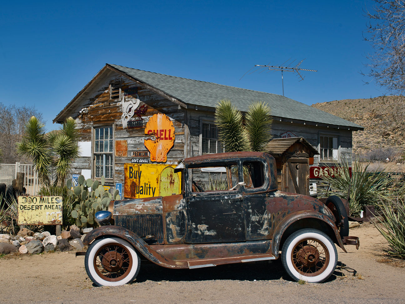 OLD ROUTE 66, HACKBERRY STATION, ARIZONA