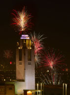 SMITH CENTER TOWER, 4TH OF JULY