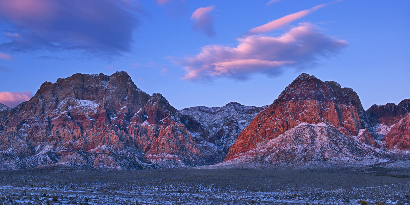 DAWN ON THE RED ROCKS