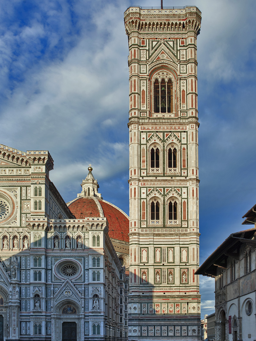 GIOTTO'S CAMPANILE (BELL TOWER), FLORENCE ITALY