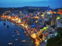 PROCIDA EVENING, BAY OF NAPLES