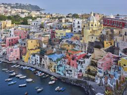 PROCIDA MORNING LIGHT, BAY OF NAPLES