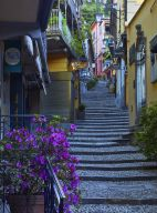 STEPS IN ITALY, BELLAGIO