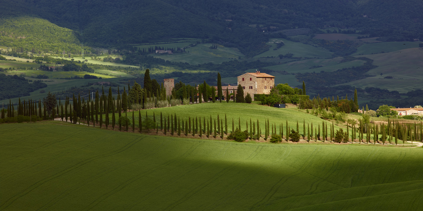 TUSCAN COUNTRY SIDE, VAL D' ORCHIA