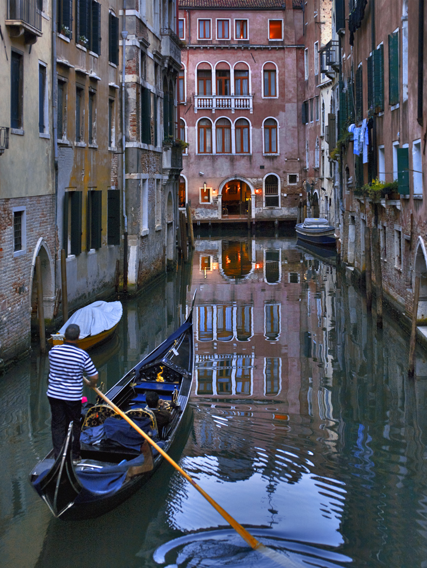 REFLECTING ON THE PAST, VENICE