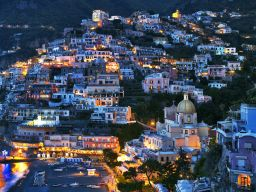 POSITANO TWILIGHT, AMALFI COAST