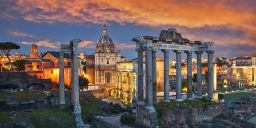 THE ROMAN FORUM PANORAMA