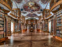 ST. GALLEN MONASTERY LIBRARY, SWITZERLAND