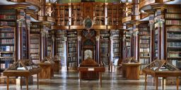 ST. GALLEN LIBRARY, SWITZERLAND(pano)