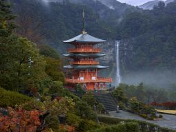 NACHI FALLS AND SEIGANTO-JI TEMPLE, WAKAYAMA PREFECTURE